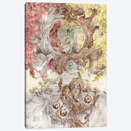 Entwined Canvas Print #SLW59} by Stephanie Law Canvas Art Print