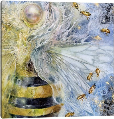 Essence Bee Canvas Art Print