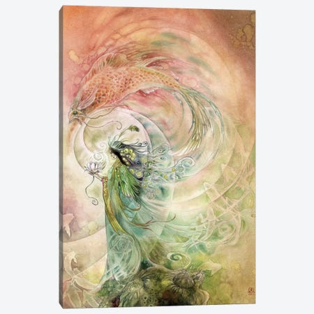 Essence Of Beauty Canvas Print #SLW62} by Stephanie Law Canvas Artwork