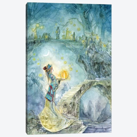 Festival Night Canvas Print #SLW64} by Stephanie Law Canvas Print