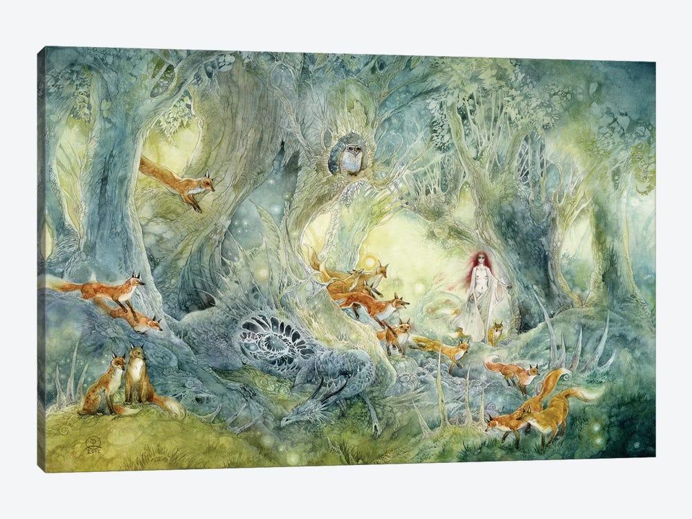 Firefly Hunters by Stephanie Law 1-piece Art Print