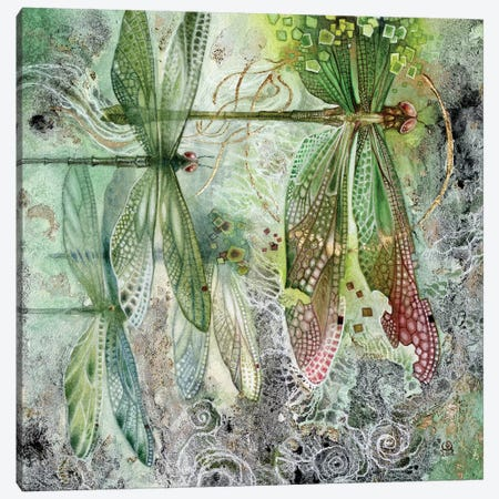 Flow Canvas Print #SLW70} by Stephanie Law Canvas Art Print