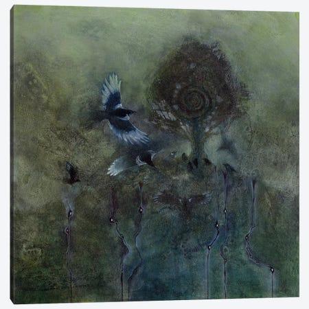 Gathering Canvas Print #SLW75} by Stephanie Law Canvas Art