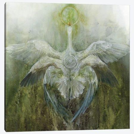 Green Flash Canvas Print #SLW78} by Stephanie Law Art Print