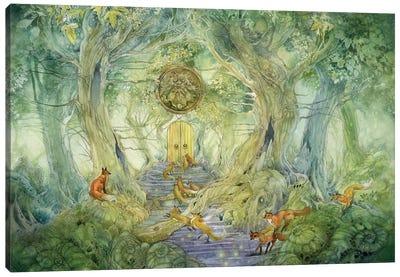 Green Gate Canvas Art Print