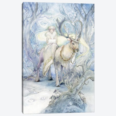 In Stillness Canvas Print #SLW87} by Stephanie Law Art Print