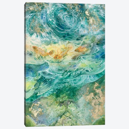 Inversions Canvas Print #SLW89} by Stephanie Law Canvas Wall Art