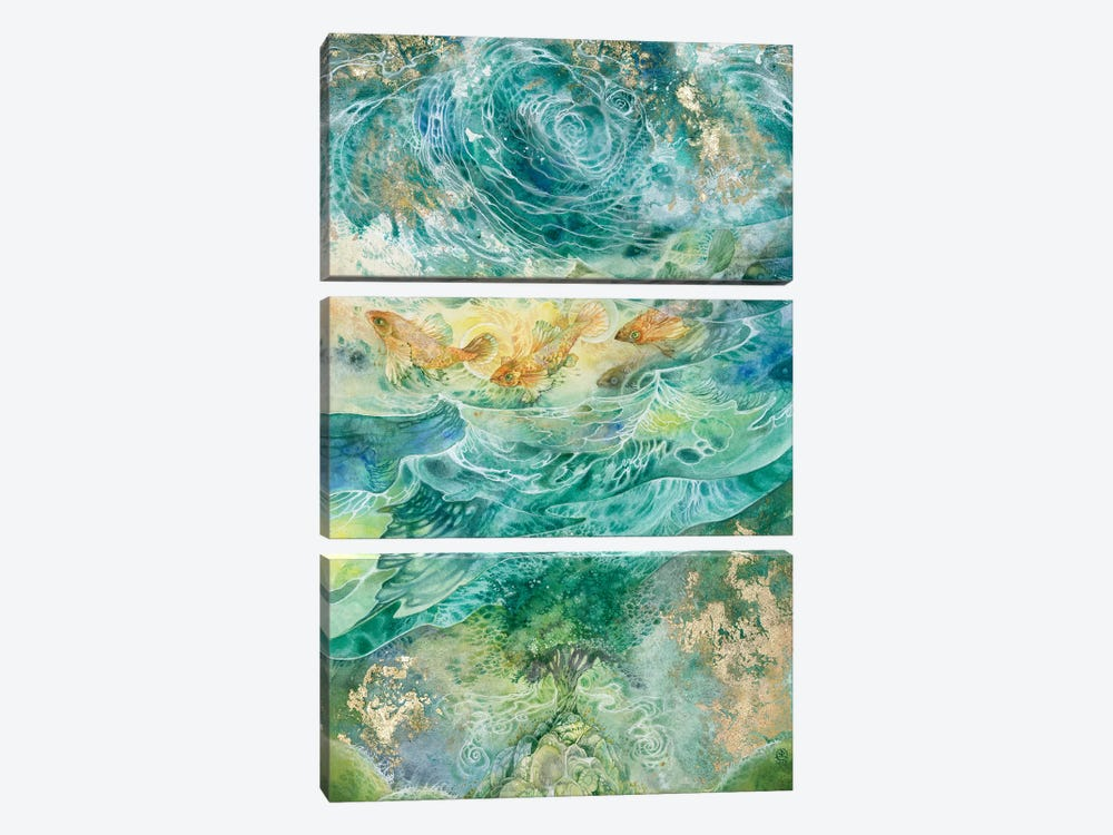 Inversions 3-piece Canvas Wall Art