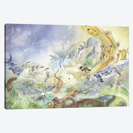 Jing Wei Canvas Print #SLW90} by Stephanie Law Canvas Print