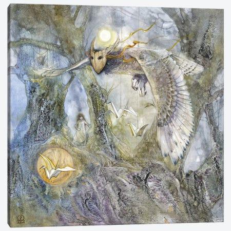 Journey Of A Wish  Canvas Print #SLW92} by Stephanie Law Canvas Art Print