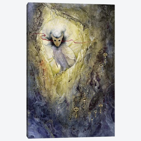 Keeper Of Keys Canvas Print #SLW94} by Stephanie Law Canvas Wall Art