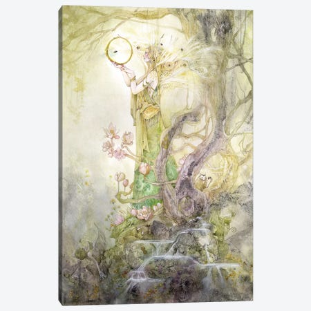 Kleodora Canvas Print #SLW96} by Stephanie Law Canvas Art
