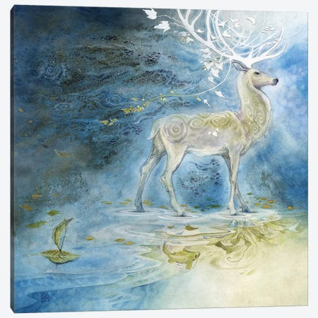 Legato Canvas Print #SLW99} by Stephanie Law Canvas Art Print