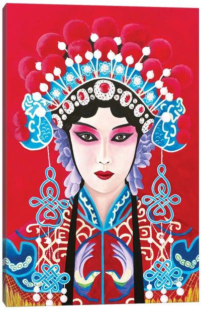 Chinese Opera Lady Canvas Art Print