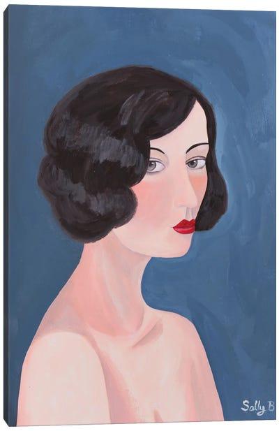 Naked Woman Canvas Art Print