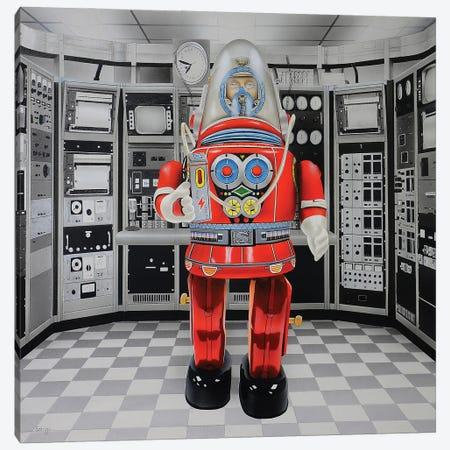 Cyborg Canvas Print #SLZ13} by John Salozzo Canvas Artwork
