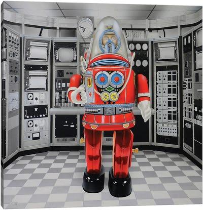 Cyborg Canvas Art Print