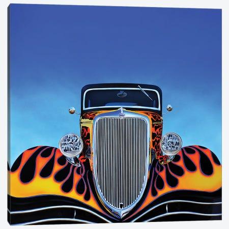 Ford Hot Rod Canvas Print #SLZ17} by John Salozzo Canvas Print