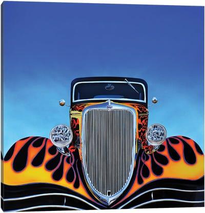 Ford Hot Rod Canvas Art Print