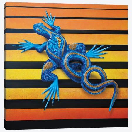 Lizard I Canvas Print #SLZ25} by John Salozzo Canvas Artwork