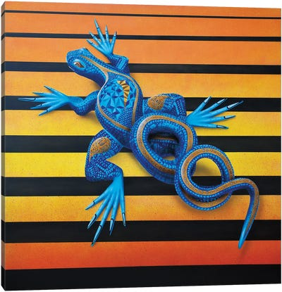 Lizard I Canvas Art Print