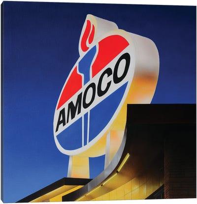Amoco Painting Canvas Art Print