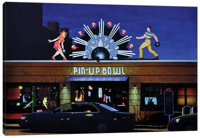 Pinup Bowl Canvas Art Print