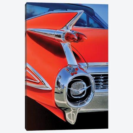 Red Caddy Canvas Print #SLZ32} by John Salozzo Canvas Art