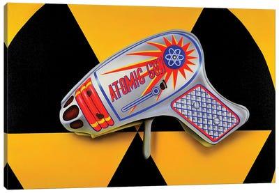 Atomic Ray Gun Canvas Art Print