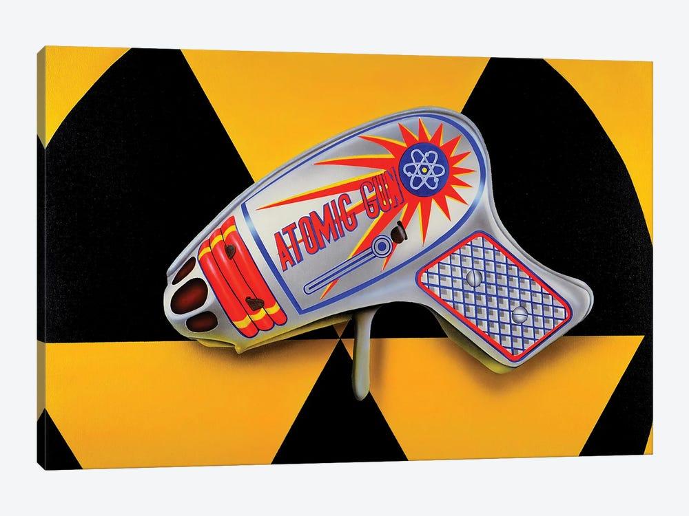 Atomic Ray Gun by John Salozzo 1-piece Canvas Wall Art