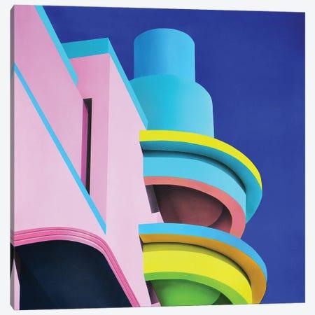 Sobe Roof Canvas Print #SLZ40} by John Salozzo Art Print