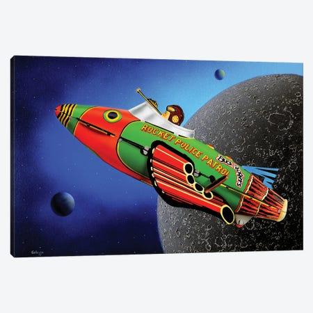 Space Cadet Canvas Print #SLZ41} by John Salozzo Canvas Print