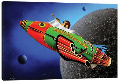 Space Cadet Canvas Art Print