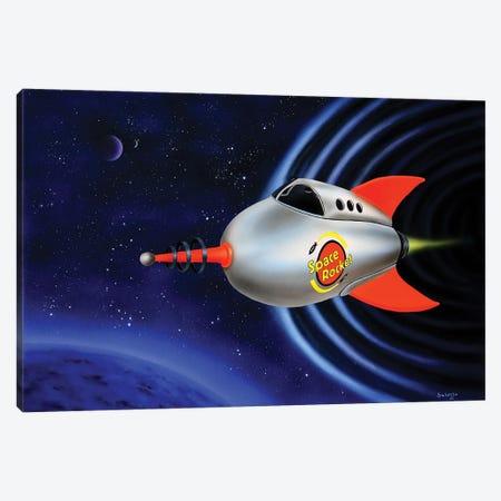 Space Rocket Canvas Print #SLZ42} by John Salozzo Canvas Print