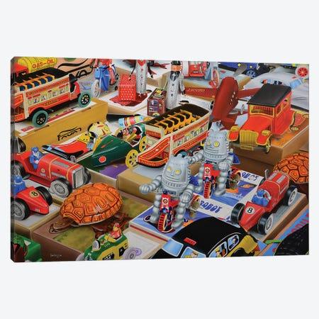 Toys Toys Toys Canvas Print #SLZ45} by John Salozzo Canvas Artwork