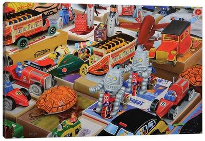 Toys Toys Toys Canvas Art Print
