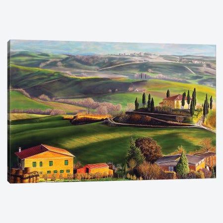 Tuscany Canvas Print #SLZ47} by John Salozzo Canvas Wall Art