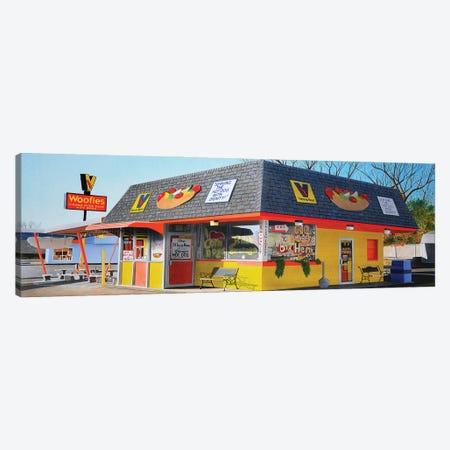 Woofies Canvas Print #SLZ49} by John Salozzo Canvas Art Print