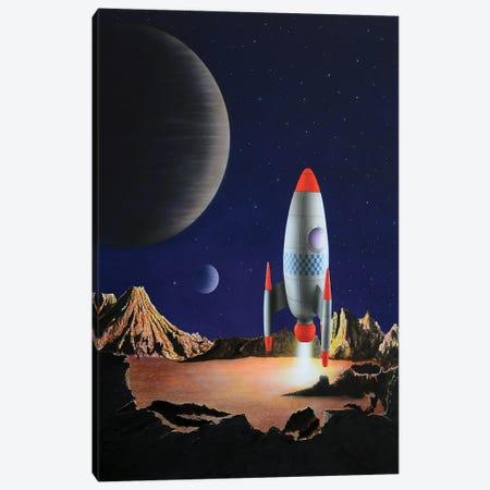 Blast Off Canvas Print #SLZ5} by John Salozzo Canvas Art
