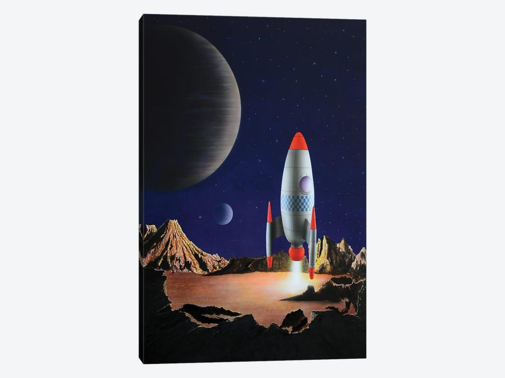 Blast Off by John Salozzo 1-piece Canvas Art