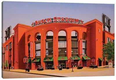 Busch Stadium Canvas Art Print