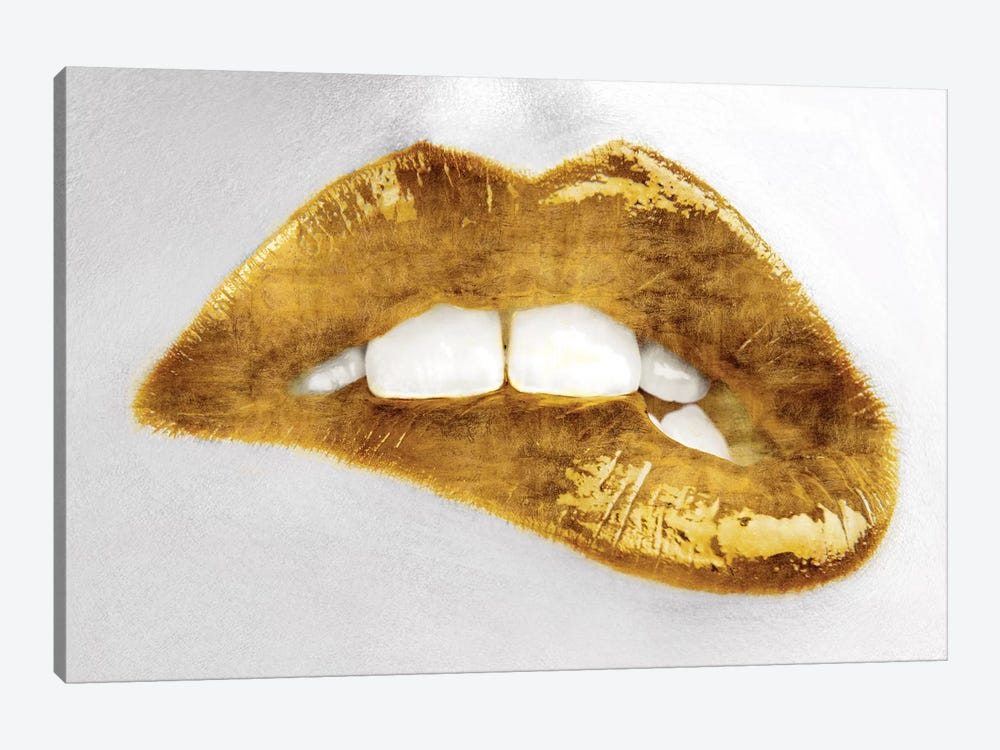 Luscious Gold by Sarah McGuire 1-piece Canvas Art Print