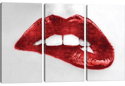 Luscious Red Canvas Art Print