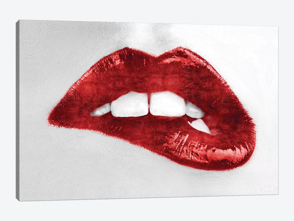Luscious Red by Sarah McGuire 1-piece Canvas Artwork