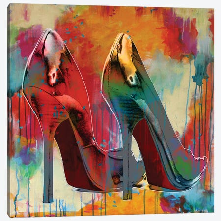 Stillettos I Canvas Print #SMC9} by Sarah McGuire Canvas Wall Art