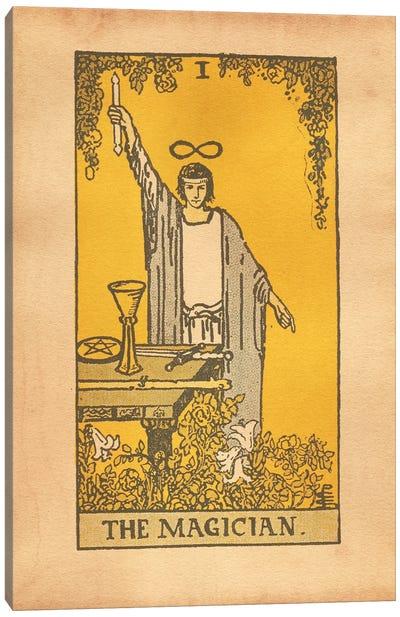 The Magician Tarot Canvas Art Print