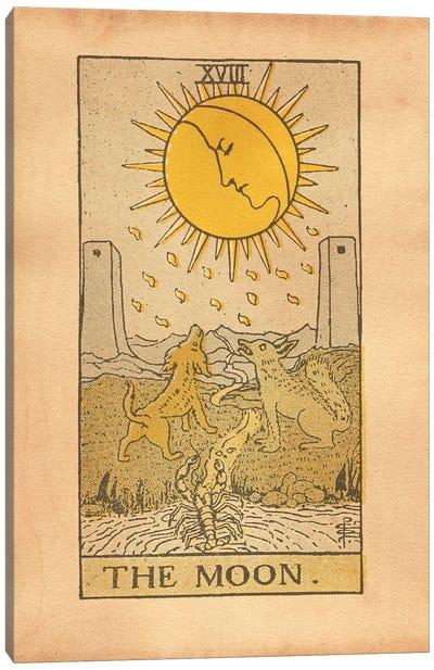The Moon Tarot Canvas Art Print