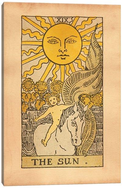 The Sun Tarot Canvas Art Print