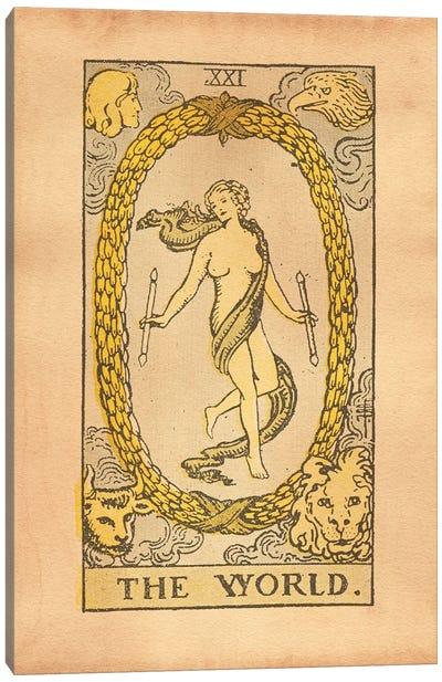 The World Tarot Canvas Art Print
