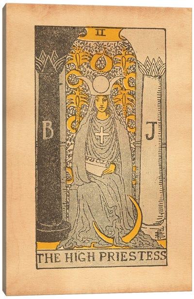 High Priestess Tarot Canvas Art Print
